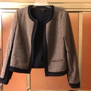 Tweed Ann Taylor blazer. Pristine condition.